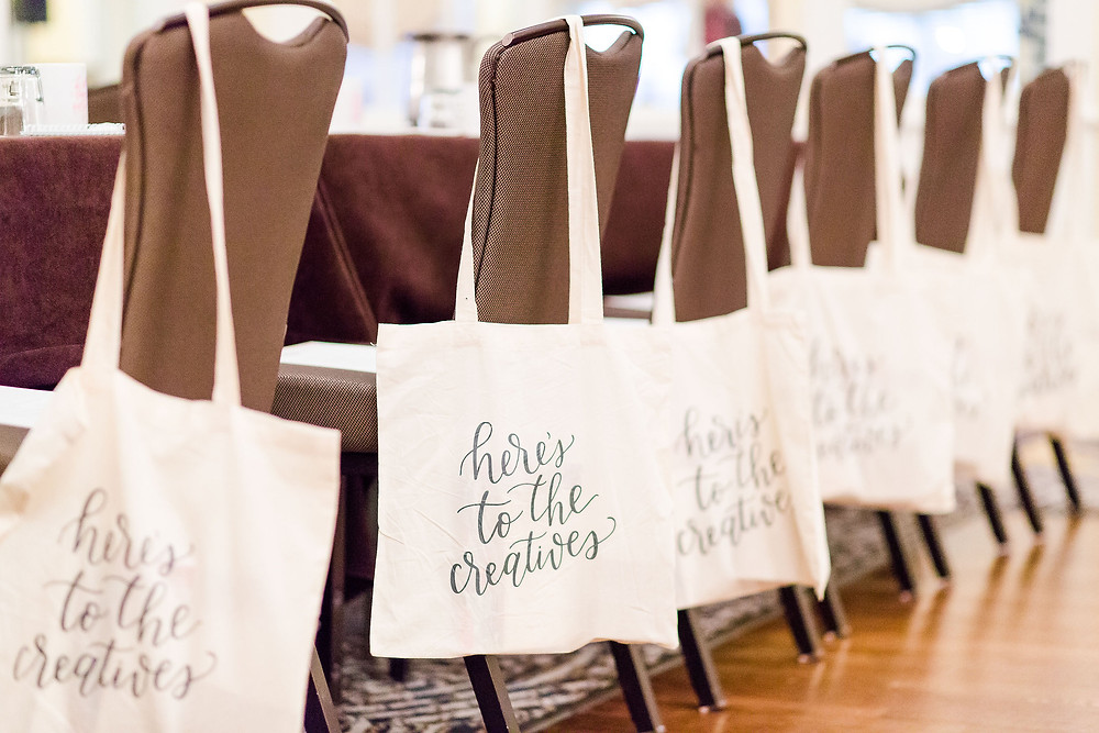 Here's to the Creatives Welcome Bags