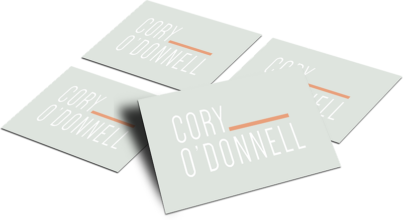 The EmmaRose Agency Business Card Design Cory O' Donnell