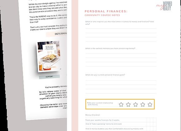 Personal Finance Workbook