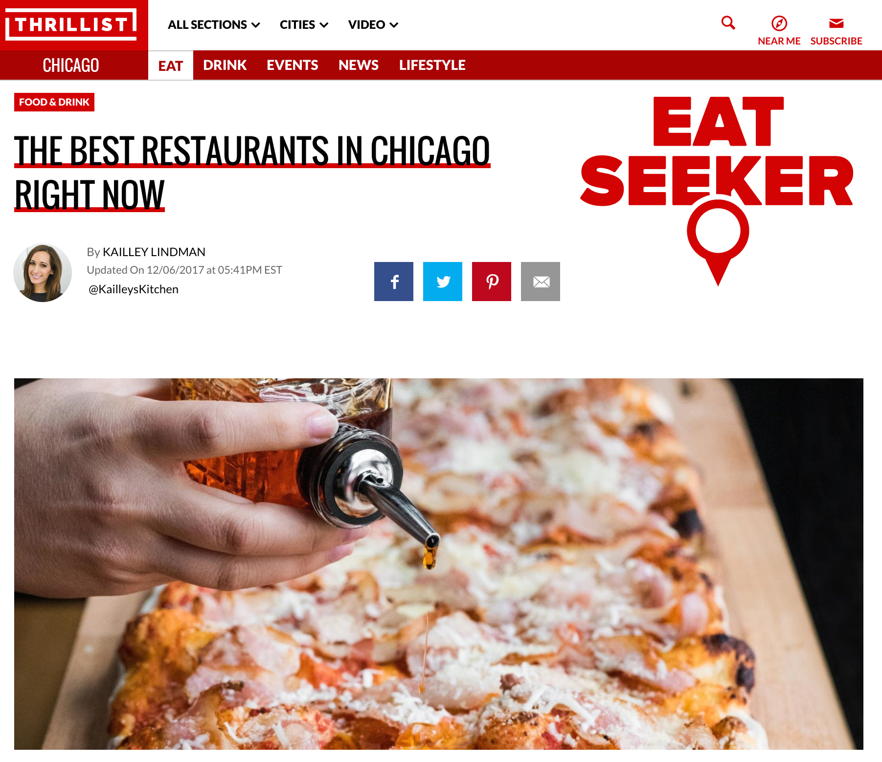 THE BEST RESTAURANTS IN CHICAGO RIGHT NOW | Point & Feather
