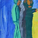 Óleo sobre papel / oil on paper | 1950 | 32,5 x 23,5 cm (T011941)