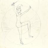 Grafite sobre papel / pencil on paper | 1975 | 47,8 x 32,7 cm (T025828)