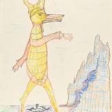 Lápis cera e grafite sobre papel / wax pencil and pencil on paper | 1978 | 55,3 x 36,6 cm (T025978)