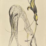 Grafite sobre cartolina / pencil on cardboard | 1974 | 55 x 36,5 cm (T004526)