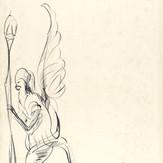 Pastel sobre papel / pastel on paper | 1975 | 48,5 x 32,7 cm (T025097)