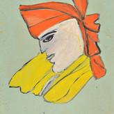 Óleo sobre papel / oil on paper | 1962 | 47,8 x 33 cm (T022285)