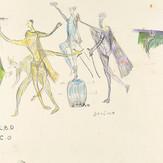 Grafite e lápis cera sobre papel / pencil and wax pencil on paper | 1977 | 36,2 x 55,2 cm (T026672)