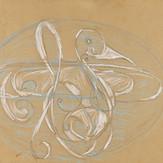 Grafite e lápis cera sobre papel / pencil and wax pencil on paper | 1968 | 33 x 49,5 cm (T027249)