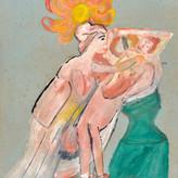 Óleo e guache sobre papel / oil and gouache on paper | 1962 | 47,4 x 33,2 cm (T022805)