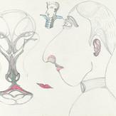 Lápis de cor e grafite sobre papel / color pencil and pencil on paper | 1980 | 33,2 x 48 cm (T026020)