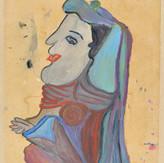 Óleo sobre papel / oil on paper | 1964 | 47,9 x 33,5 cm (T011936)