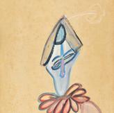 Óleo sobre papel / oil on paper | 1964 | 48,2 x 32,6 cm (T022120)