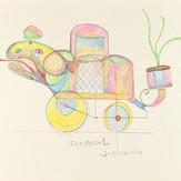 Grafite e lápis cera sobre papel / pencil and wax pencil on paper | 1979 | 35,2 x 50,2 cm (T025595)