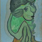 Óleo sobre papel / oil on paper | 1968 | 48,1 x 34 cm (T002987)