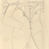 Grafite sobre papel / pencil on paper | 1972 | 36,8 x 55,3 cm (T005158)
