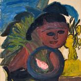 Óleo sobre papel / oil on paper | 1961 | 48,3 x 33,2 cm (T024500)