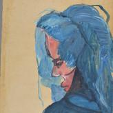 Óleo e guache sobre papel / oil and gouache on paper | 1968 | 48,3 x 33,7 cm (T022806)