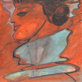Óleo sobre papel / oil on paper | 1966 | 55,2 x 36,6 cm (T025352)