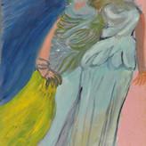 Grafite e óleo sobre papel / pencil and oil paper | 1962 | 48 x 33,5 cm (T024460)