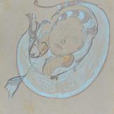 Grafite e pastel sobre papel / pencil and pastel on paper | 1970 | 47,3 x 33 cm (T026726)
