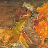 Óleo sobre papel / oil on paper | 1956 | 29 x 48 cm (T006078)
