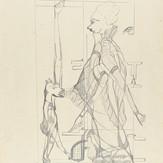 Grafite sobre papel / pencil on paper / pencil on paper | 1973 | 55,2 x 36,8 cm (T026194)
