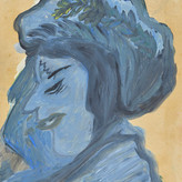 Óleo sobre papel / oil on paper | 1965 | 48,2 x 32,6 cm (T022210)