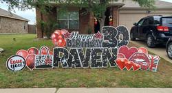 Birthday Yard Card Crowley