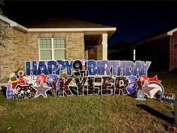 Birthday Yard Sign