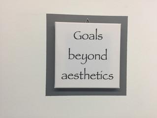Goals Beyond Aesthetics