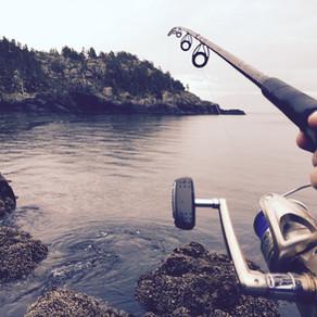 細い糸で大物を釣る