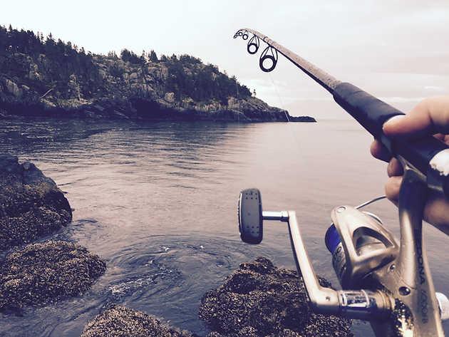 Pesca en el rio