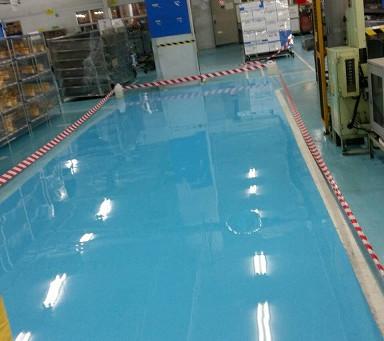 ข้อจำกัดของงานสีอีพ็อกซี่และพื้นอีพ็อกซี่ (epoxy coating)