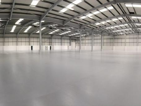 พื้นอีพ็อกซี่ กับพื้นในอุตสาหกรรมโรงงานทั่วไป Epoxy floor with general factory flooring