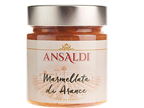 Marmellata artigianale di Arance siciliane