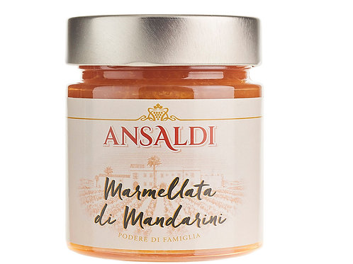 Marmellata biologica di mandarini siciliani