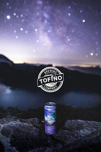 tofino brewing, tofino, milky way, beer, can, craft brewing,