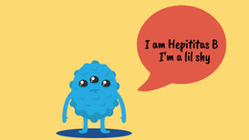 But you can call me Hep B for short.  I'm kind of a shy loaner. Besides the fact that I enjoy quietly wandering from person to person, I don't like to show many symptoms. I'm spread through blood, semen, or other bodily fluid. I affect people of all genders. I may cause fever, fatigue, loss of appetite, nausea, vomiting, dark urine, abdominal pain, joint pain and yellowing color in the skin  Some of my hobbies I enjoy are causing long-term health problems including liver damage, liver failure, liver cancer and even death. I hate condoms. They reduce my risk of spreading through sex.   My worst enemies are vaccines. They can prevent me completely   fun fact about me is that I can live outside the body for at least 7 days.