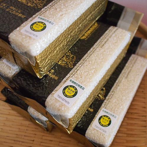 金碳稻 有機轉型期白米