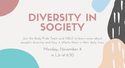 Diversity in Society