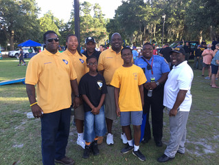 Knights of Pythagoras attend National Night Out in North Charleston, SC