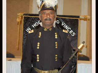 District Deputy (9th Masonic District) Samuel Davis elected Most Eminent Grand Master