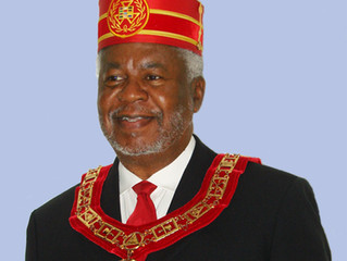 District Deputy (4th Masonic District) James V. Blake elected as General Grand Conference High Pries