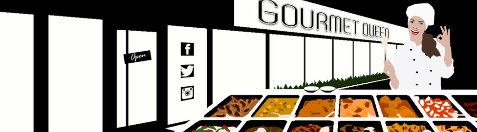 GOURMET QUEEN - BANNER FOR YOUTUBE CHANNEL