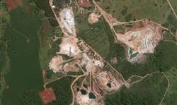 Mineração - WorldView 2 - 0,50 m