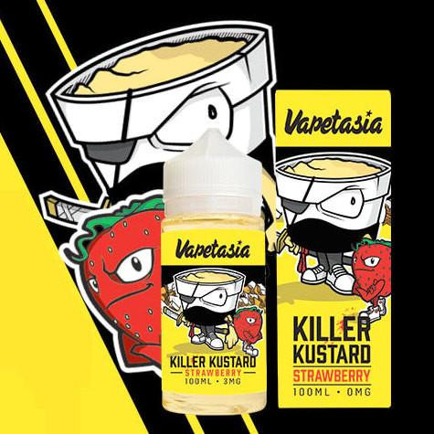 Vapetasia | KILLER KUSTARD STRAWBERRY