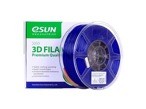 ESUN PETG 1,75 mm, Solid Blue
