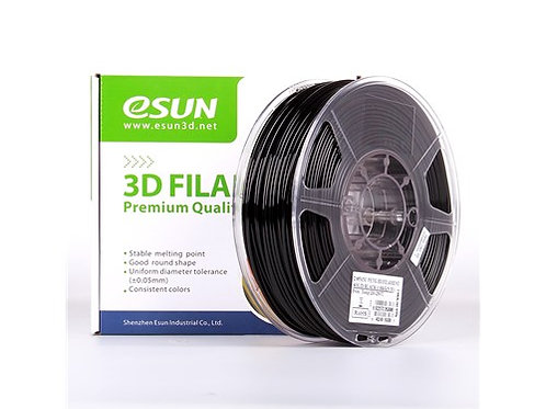 ESUN PETG 1,75 mm, Solid Black