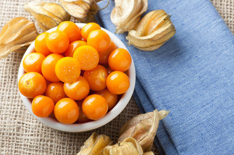 Physalis Fruit in Bowl