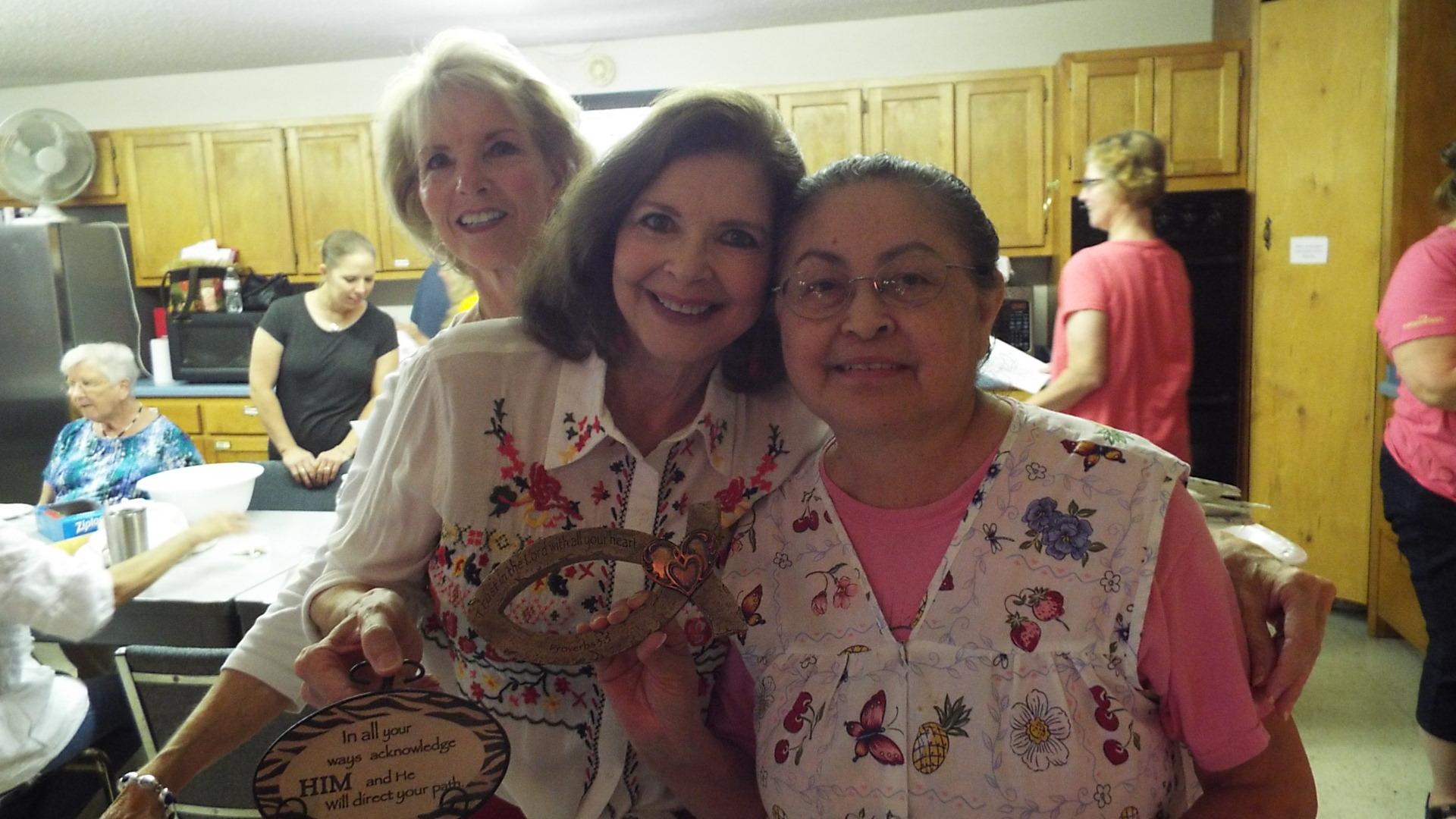 Mary Carol, Tita, and Minnie